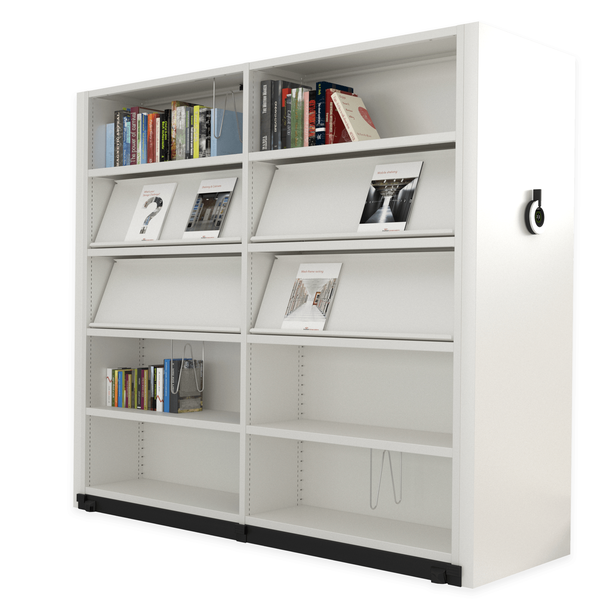 Compactus Dynamic II amenagement bibliotheque