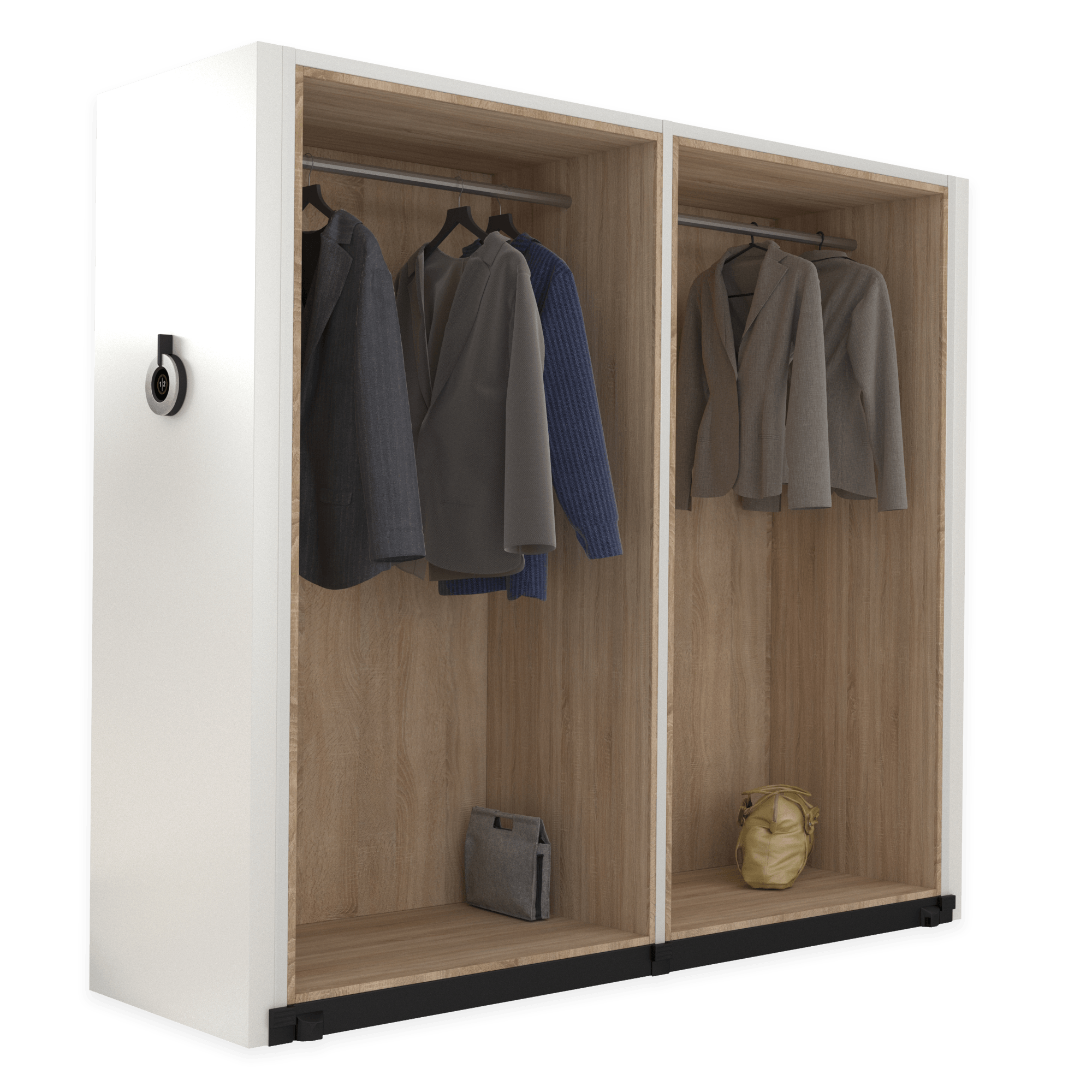 Compactus Dynamic II amenagement penderie