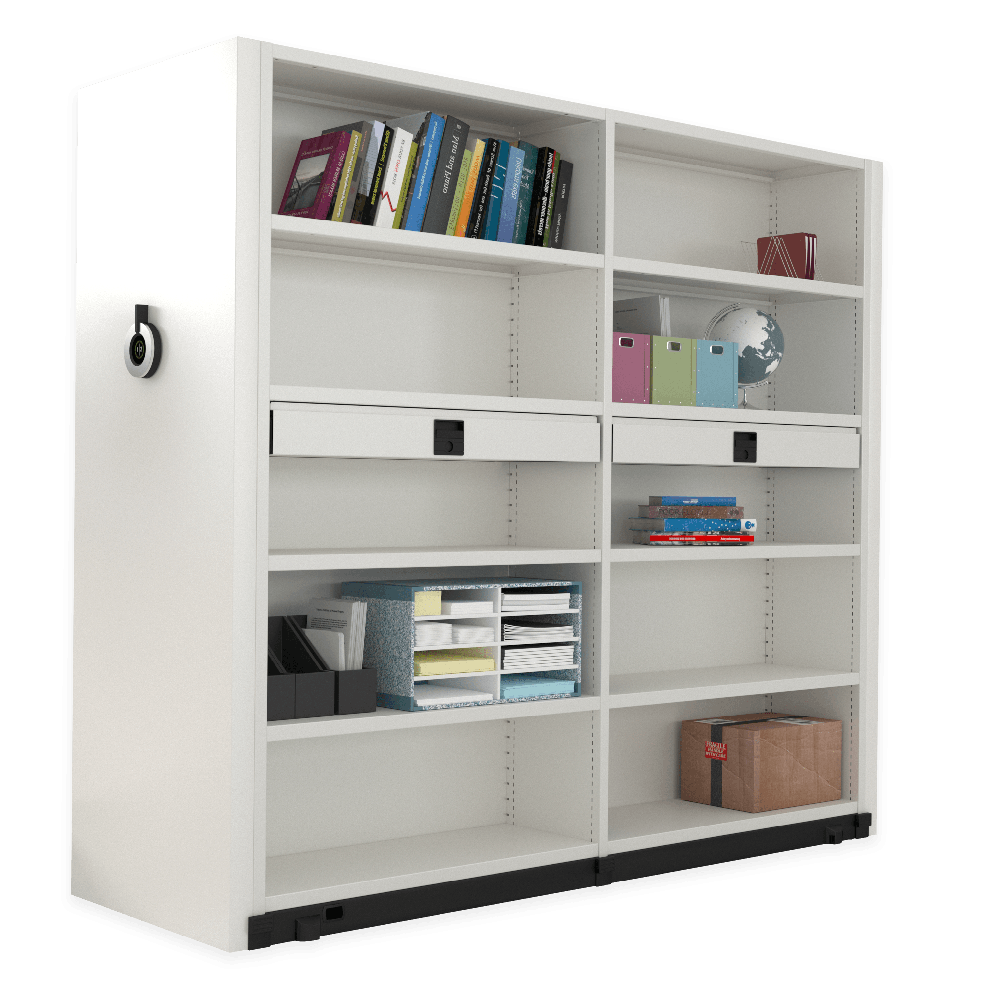 Compactus Dynamic II amenagement tiroirs